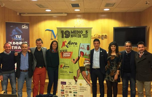 Más de 500 corredores participarán en la media maratón Álora-Valle del Sol