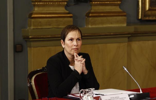 """Barkos dice que los símbolos de Navarra """"seguirán siendo los mismos"""", pero rechaza la """"prohibición"""" de otros"""