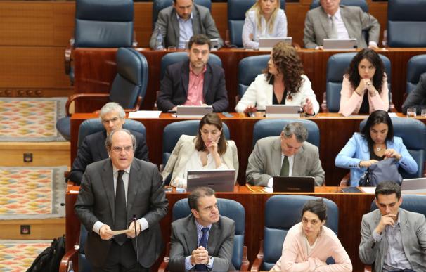 """Gabilondo pide a Cifuentes que """"reactive"""" el Plan Activa para hacer llegar 630 millones a los municipios de la zona Sur"""