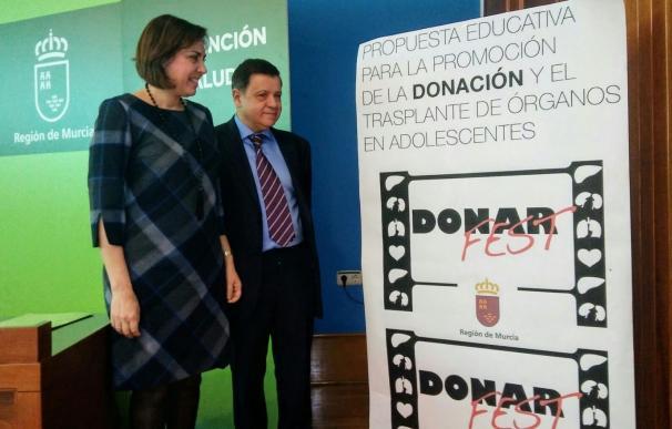 La Región acoge el primer festival nacional de cortos sobre donación y trasplante de órganos