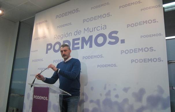 """Urralburu (Podemos): """"Hacer oposición es limpiar la corrupción del PP"""""""