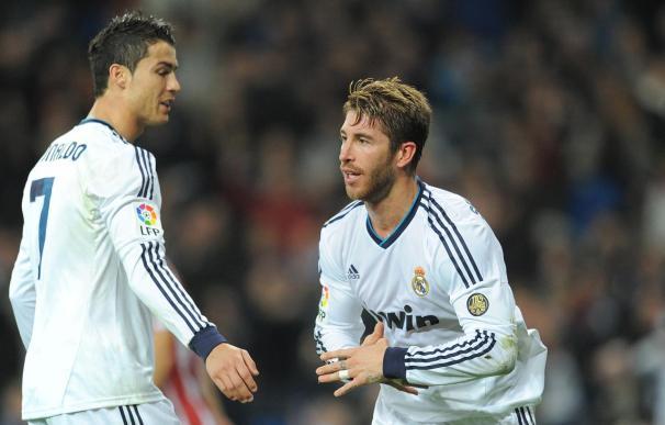 Sergio Ramos y Cristiano, dos de los jugadores que más minutos han jugado en liga