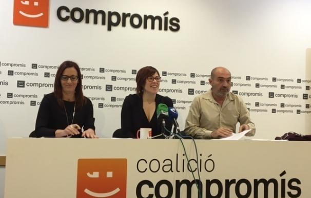 """Compromís dice """"no es no es"""" a las Diputaciones y estudia transferir sus competencias a otras administraciones"""