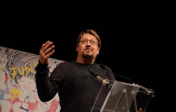 """Domènech (ECP) viaja el martes a Bruselas a buscar aliados para un referéndum """"efectivo"""""""