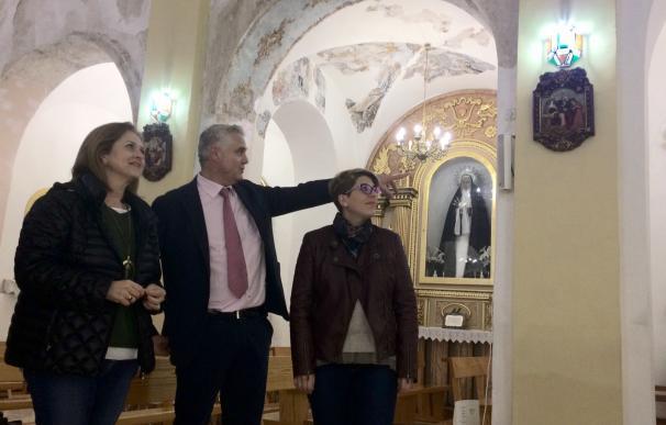 La Comunidad finaliza la restauración de la imagen de la patrona de Albudeite