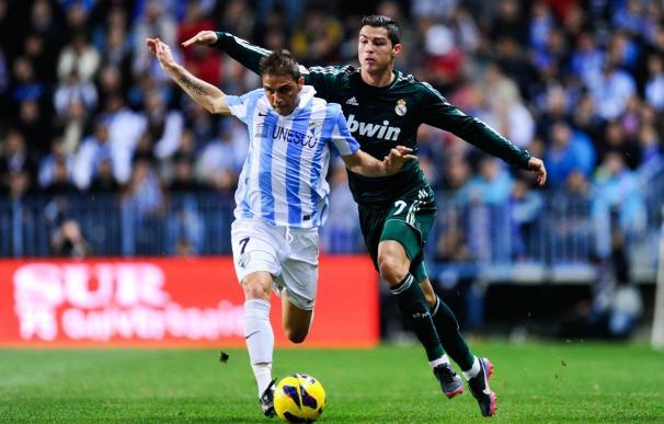 Joaquín se permitió el lujo de ganar una carrera a Ronaldo