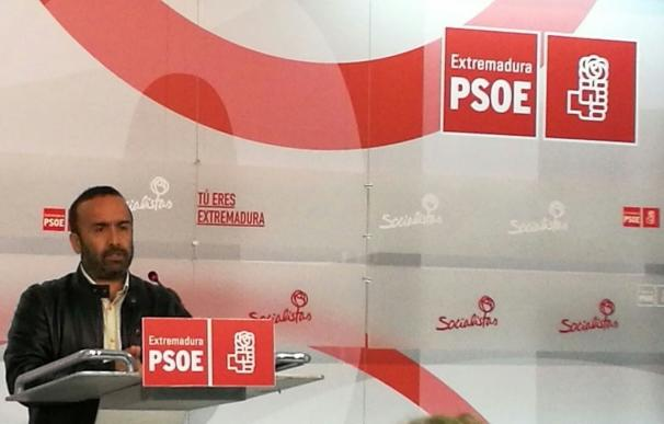 """El PSOE apela a la unidad de """"todas"""" las fuerzas políticas extremeñas para afrontar el """"problema gravísimo"""" del paro"""