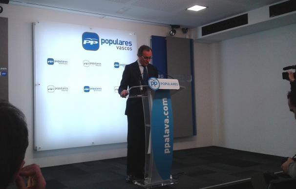 """Alonso responde a Homs que el juicio por el proceso del 9N """"no es el fin de nada, sino la garantía de la democracia"""""""