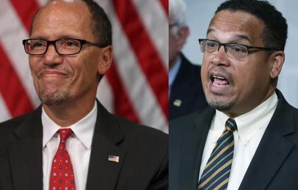 Un hispano y un musulmán negro toman las riendas del partido demócrata