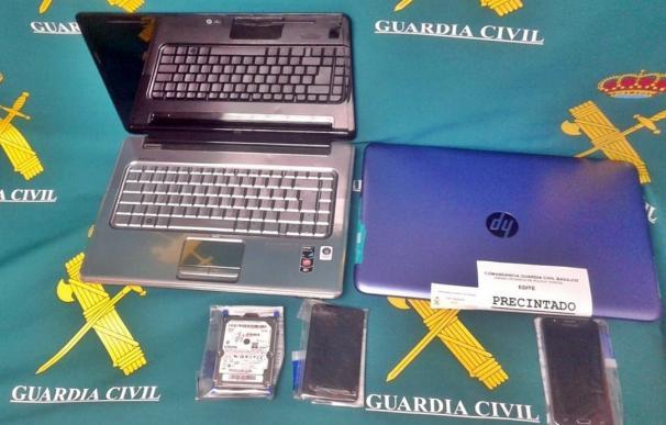 Detenido a un vecino de Madrid por un delito de abusos sexuales a una menor pacense a través de Internet