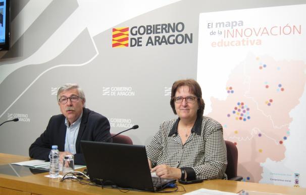 """Educación quiere """"contagiar la innovación"""" con una nueva plataforma web con todos los recursos que existen en Aragón"""