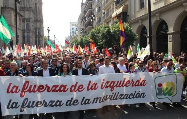 """Maíllo llama a """"una jornada de lucha"""" el 28F en una Andalucía """"asolada por el paro y los recortes"""""""
