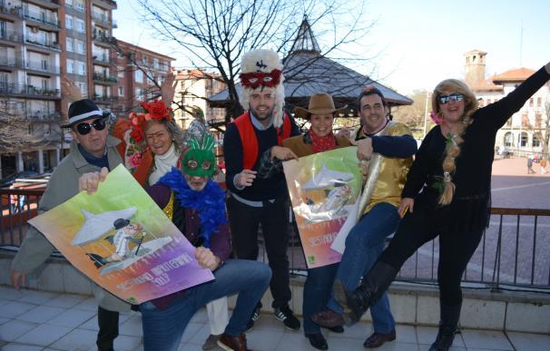 Sestao celebra este fin de semana sus Carnavales, con un 5% más de presupuesto en premios