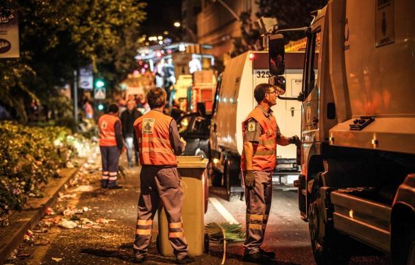 El primer fin de semana del Carnaval de Santa Cruz deja 119 toneladas de basura