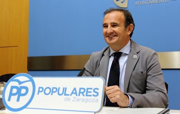 """El PP, satisfecho por la liquidación de la sociedad 'Zaragoza @desarrolloexpo' por """"innecesaria"""""""