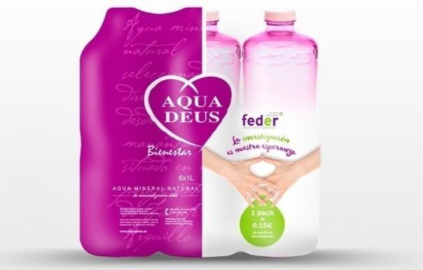 Aquadeus lanza un 'pack' de botellas rosas para lograr 30.000 euros que donará a la investigación de enfermedades raras