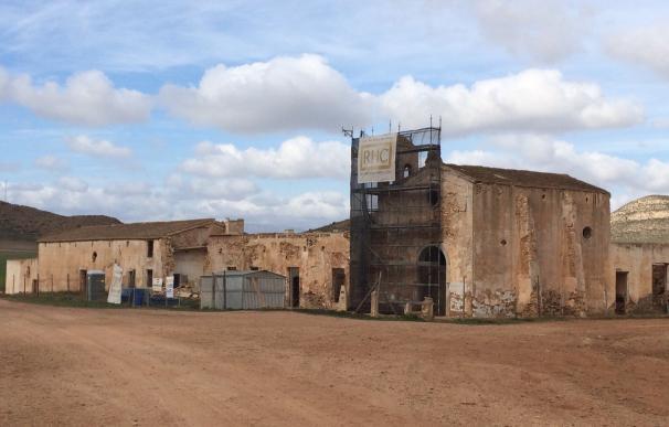 Las obras de conservación del Cortijo del Fraile en Níjar (Almería) entran en su recta final tras 4 meses de trabajos