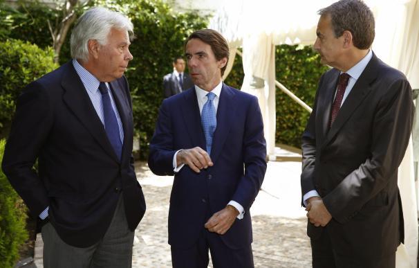 González y Aznar se unen para denunciar el caso del opositor Leopoldo López, que cumple 3 años en prisión
