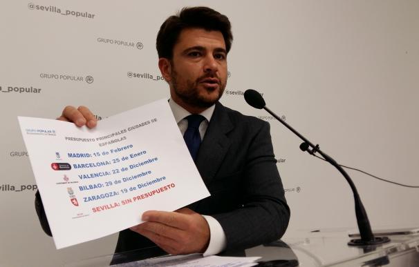 """PP ve un """"retraso injustificable"""" en presupuesto por la """"incapacidad"""" de Espadas en una ciudad """"sin rumbo"""""""