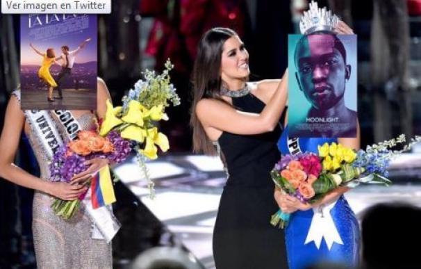 'La La Land' se queda sin corona de mejor película al puro estilo Miss Colombia