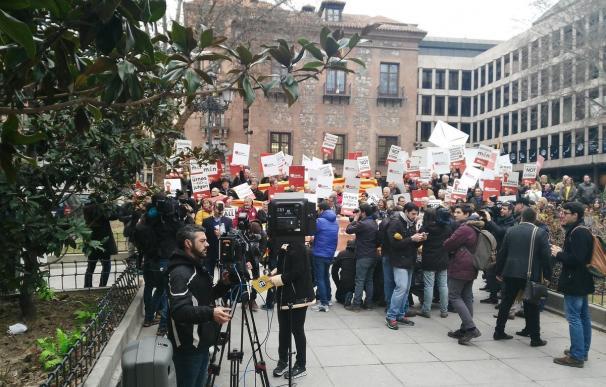 Caravana de apoyo a Homs en Madrid ¿Quien paga la fiesta?