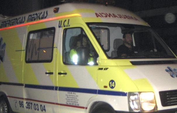 La mujer agredida por su expareja en Sueca está en la UCI con heridas en el abdomen y tórax
