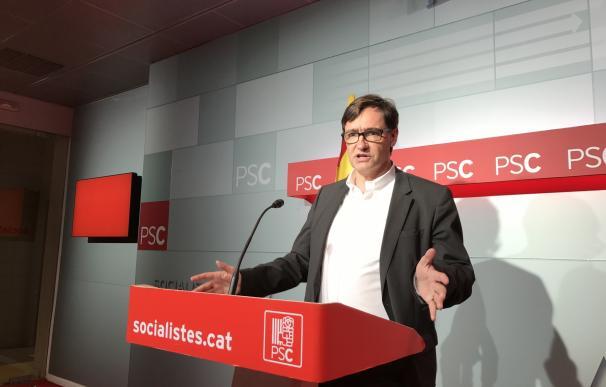 El PSC descarta adherirse al Pacte pel Referèndum