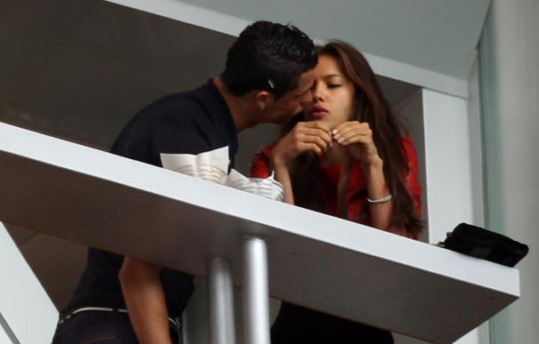 Cristiano Ronaldo vio la derrota del Real Madrid con Irina Shayk