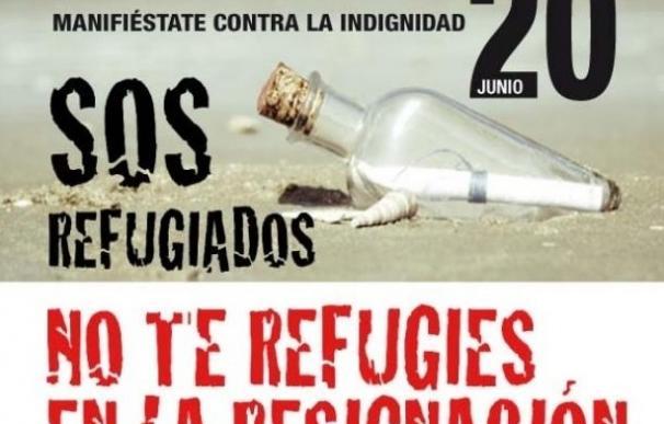 El Día Mundial del Refugiado se conmemorará en España con actos y manifestaciones en defensa de los Derechos Humanos