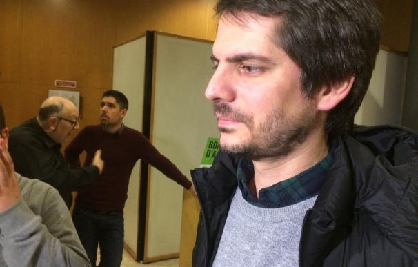 """Urtasun (ICV) ve """"aberrante"""" la judicialización del proceso catalán y aboga por el diálogo"""