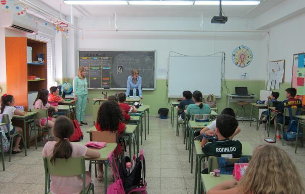 Los niños empezarán en el colegio a primeros de septiembre