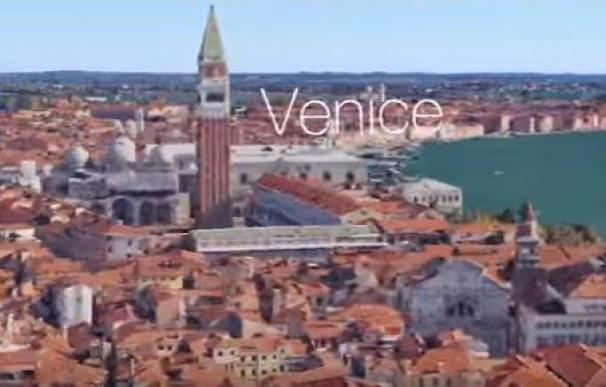 Da la vuelta al mundo con imágenes de Google Maps en solo dos minutos y medio