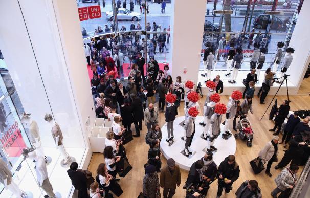 Apertura de una tienda de Uniqlo en Berlín. Getty Images