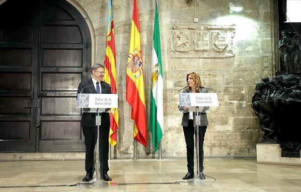 """Puig y Díaz plantean ocho puntos para la reforma de la financiación e insisten en que las comunidades """"no derrochan"""""""