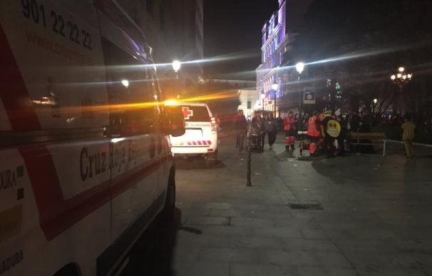 Cruz Roja atiende a 31 personas la noche del sábado de Carnaval en Badajoz, la mitad por alcohol