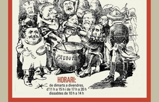 La Biblioteca de Catalunya inaugura este martes la exposición 'Humorístiques'