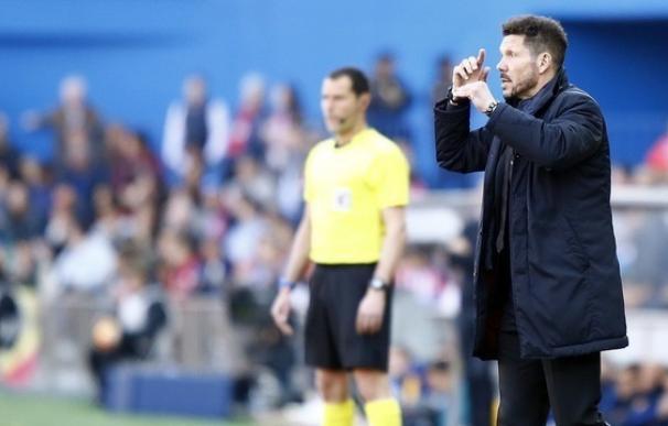 """Simeone: """"Se llevaron un partido, posiblemente no merecido"""""""
