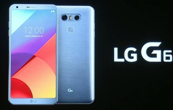 """LG anima el MWC con la presentación del G6, un terminal que es """"todo pantalla"""""""