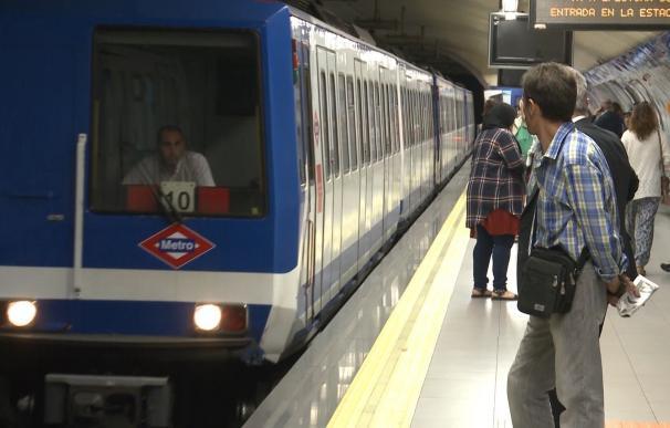 Este lunes están convocados nuevos paros parciales en Metro de Madrid, con servicios mínimos del 65% de media
