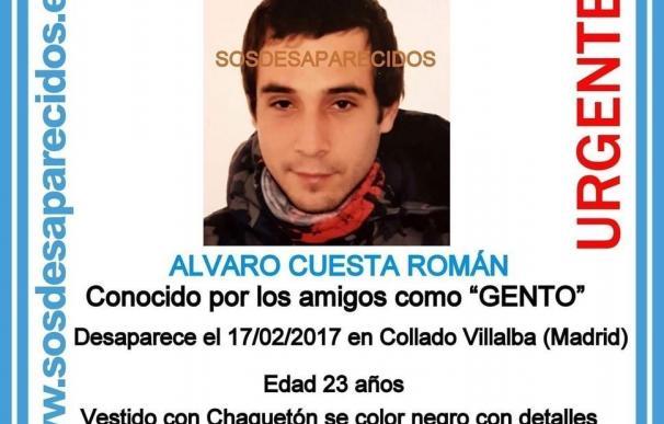 Hallan muerto el joven de 23 años de Collado Villalba que estaba desaparecido desde el 17 de febrero