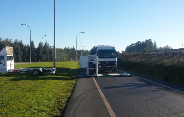 La DGT realizará inspecciones técnicas en carretera a camiones, furgonetas y autobuses en las carreteras navarras