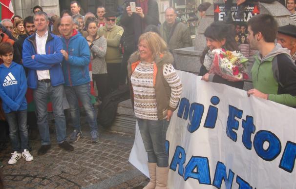 """La abogada de presos de ETA Arantza Zulueta anima a seguir luchando """"hasta traer a casa a todos"""" los reclusos"""