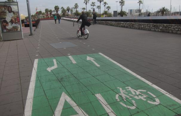 Barcelona aprueba la licitación de 62,5 kilómetros de carril bici