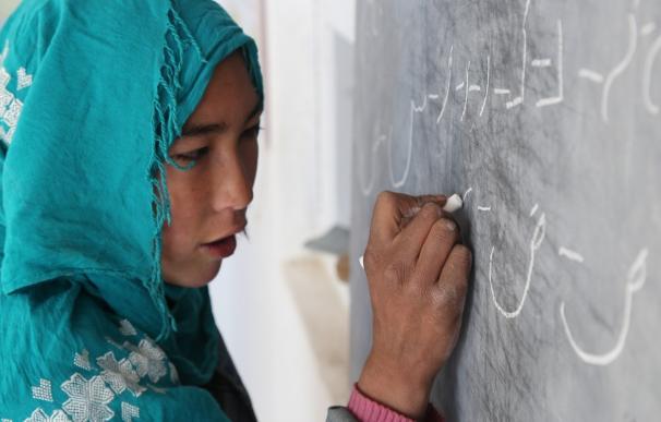 Luchando para conseguir una educación