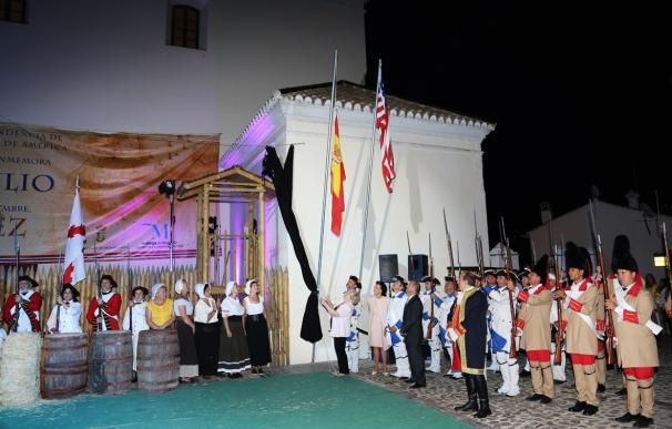 Macharaviaya recrea la gesta de Bernardo de Gálvez que entregó la Independencia a los EEUU