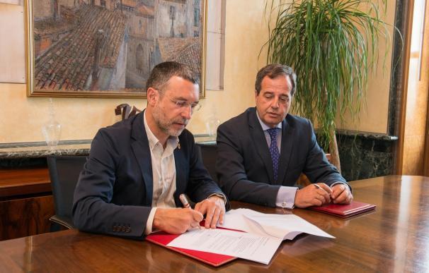 El Gobierno de Navarra y Sareb firman un convenio para destinar 30 viviendas de la entidad a alquiles sociales