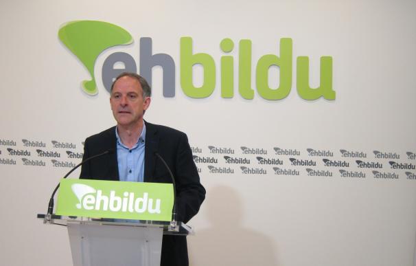 """EH Bildu cree que habrá """"respuesta popular"""" a la sentencia sobre la ikurriña, que tendrá """"presencia, aunque no oficial"""""""
