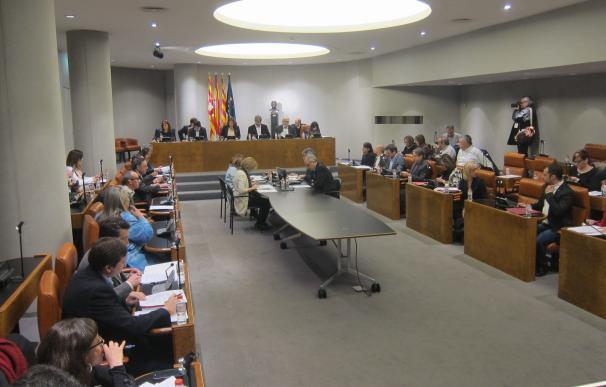 La Diputación de Barcelona aprueba retirar los honores a Franco y su régimen por unanimidad