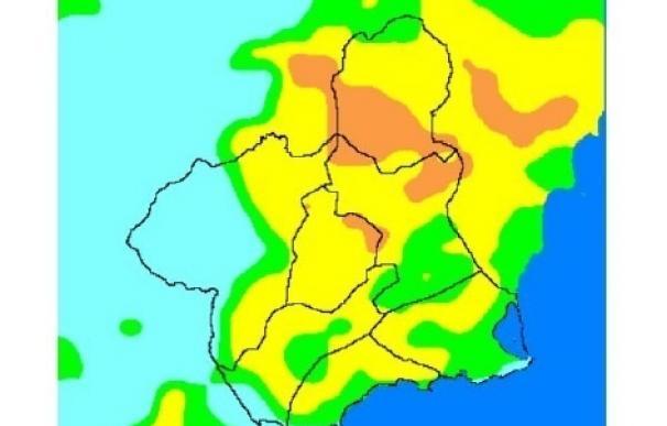El nivel de riesgo de incendios forestales este jueves en la Región oscila entre moderado y alto