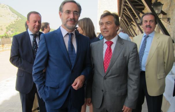 López anuncia la conexión de Geolit con la autovía y pide colaboración al Estado